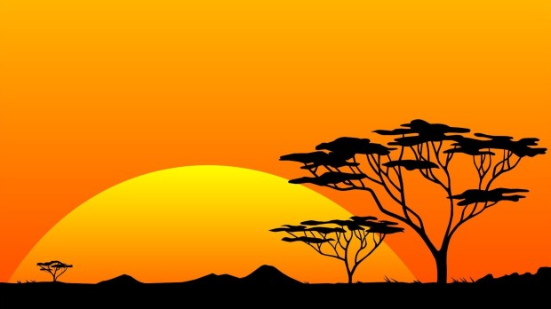 safari-silhouette-in-the-sunset-vector-hd-wallpaper-1920x1080-1876