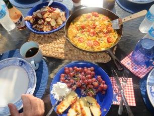 Frittata for breakfast