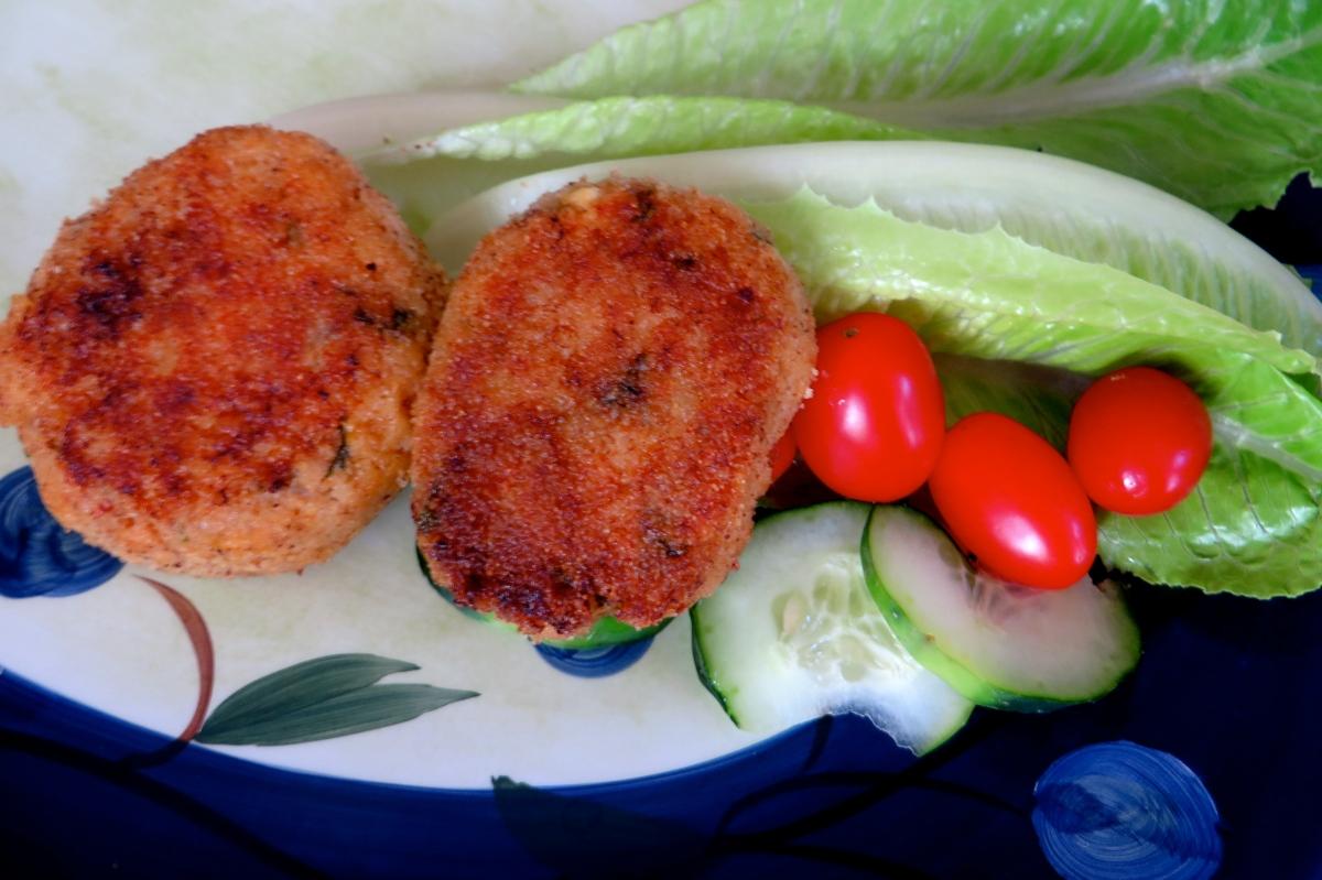 Goan fish cutlets
