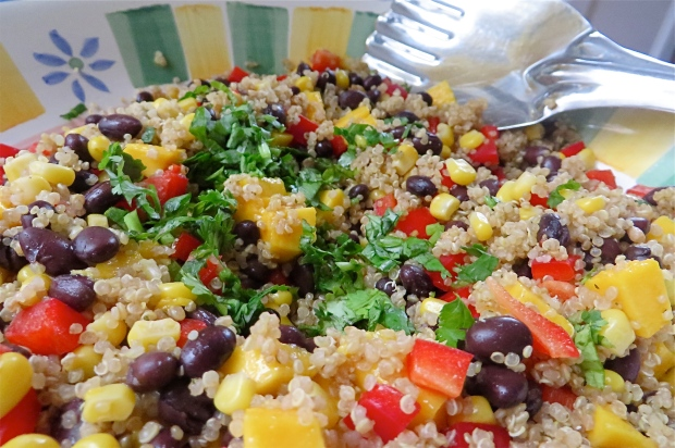 black bean southwestern black bean mango black bean mango quinoa ...