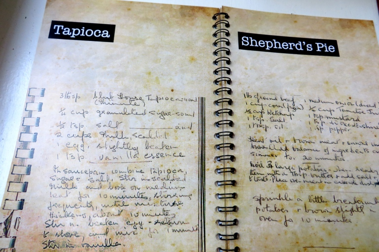 Some of the recipes in the book
