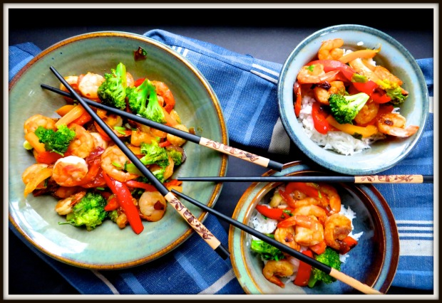Shrimp and Veggie Stir Fry – Happy Chinese New Year ...